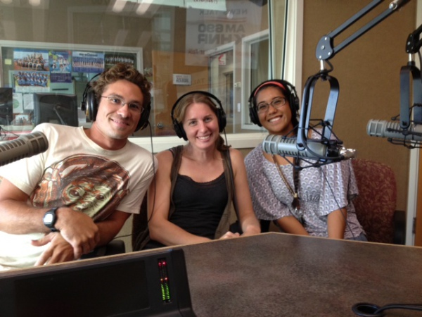 Nyssa on Hawaii's Talk Radio